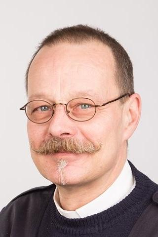 Ein Mann mit Schnurrbart, Jürgen Hensel - Copyright: Jürgen Hensel privat